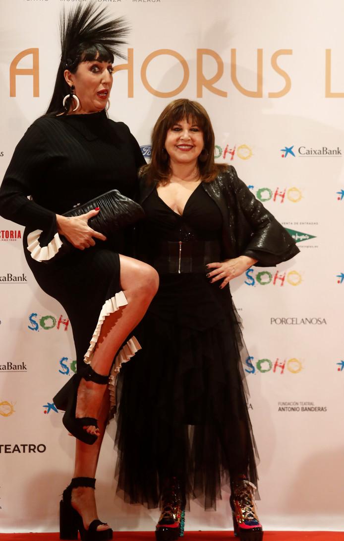 Les actrices Loles Leon et Rossy de Palma étaient de la partie