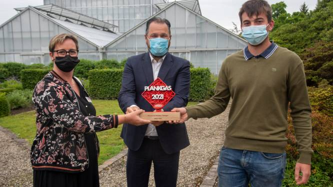 Leerling GO! Tuinbouwschool Melle wint Plankgas-wedstrijd Unizo en start in september al eigen onderneming