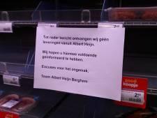 AH ruziet met franchisenemer: lege schappen bij super in Berghem