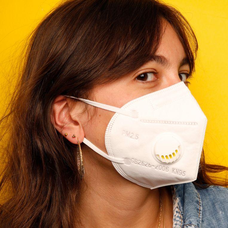 'Shen Huang Disposable Folding Mask' van Executieverkoop Utrecht. Beeld Studio V