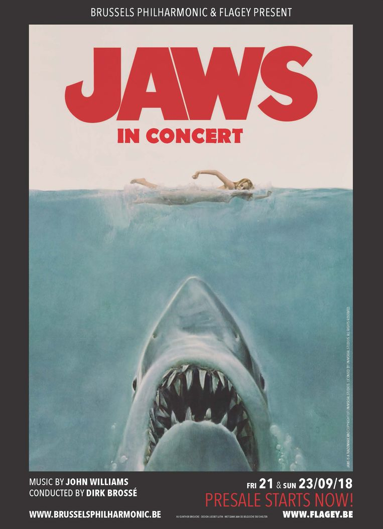 Jaws in Concert, in september in Flagey. Beeld RV