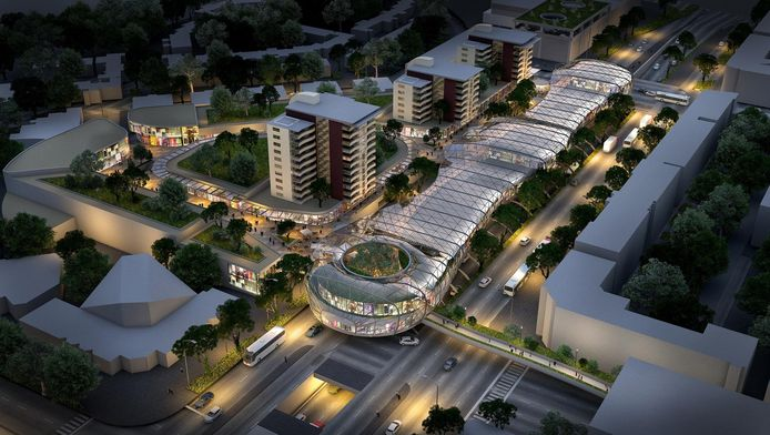 De Holland Outlet Mall die Provast wil bouwen.