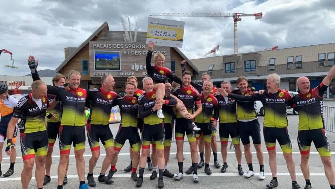 Hardenbergers fietsen 1,5 ton bijeen met Tocht van Gewoon Doen: 'Wie weet hoeveel levens je ermee redt'