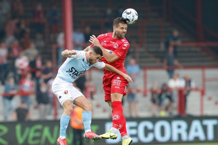 Lucas Rougeaux gaf een assist in de 2-0 overwinning tegen Seraing.