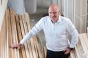 Gorisse Bouw heeft nog weinig last gehad van de schaarste,  zegt mede-eigenaar Jacco Goudzwaard.