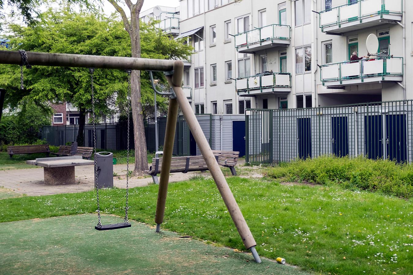 Sociale huurwoningen in de Afrikaanderwijk in Rotterdam.