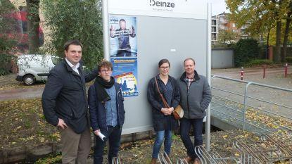 Nieuwe aanplakborden voor evenementen in Deinze