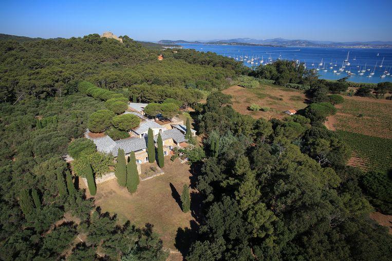 Het domein van de Fondation Carmignac ligt  op het eiland Porquerolles. Beeld Lionel Barbe