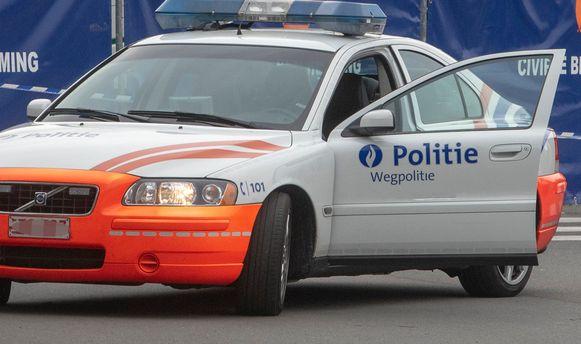 Archiefbeeld : Onderzoek naar transmigranten op parking E40 in Wetteren.