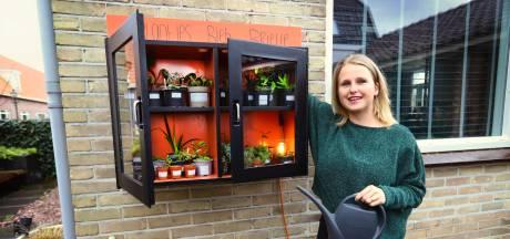 Plantje nodig of eentje brengen? Sharon uit Brielle opent plantjesbieb aan huis