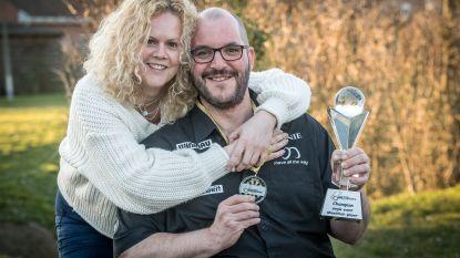 """Vincent is eerste wereldkampioen G-darts: """"Ik heb wel al vaker gewonnen, maar toen was het een officieus kampioenschap"""""""