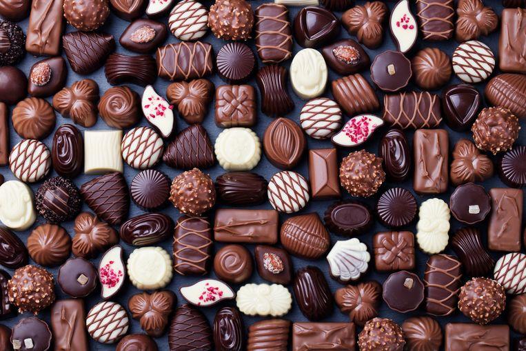De truck vervoerde een lading Belgische chocolade.