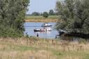 De jetski is na het ongeluk uit het water gehaald.