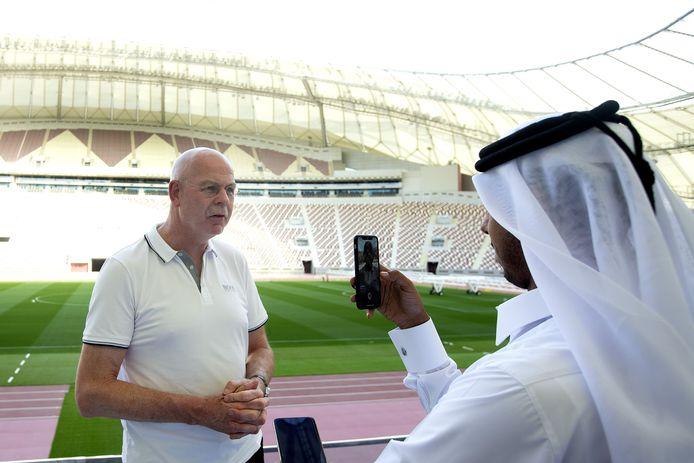 Algemeen-directeur Toon Gerbrands tijdens het trainingskamp van PSV begin dit jaar in Qatar.