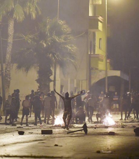 Rellen bij demonstratie in Tunesië tegen politiegeweld