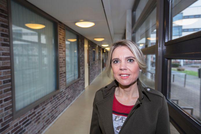 Verpleegkundige Miranda van Bussel. Foto Ton van de Meulenhof