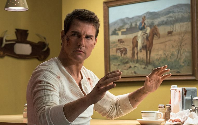 Tom Cruise als Jack Reacher.  Beeld RV Paramount Pictures and Skydance Productions