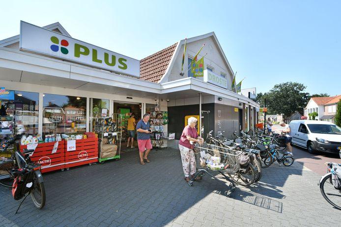 De supermarkt in Vasse.
