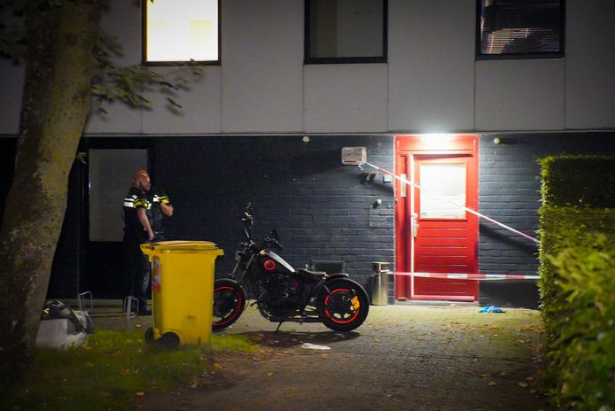 De woning aan de Scherpenkampweg in Nijmegen waar vorige week woensdag de 37-jarige Tim bij een schietpartij om het leven kwam.
