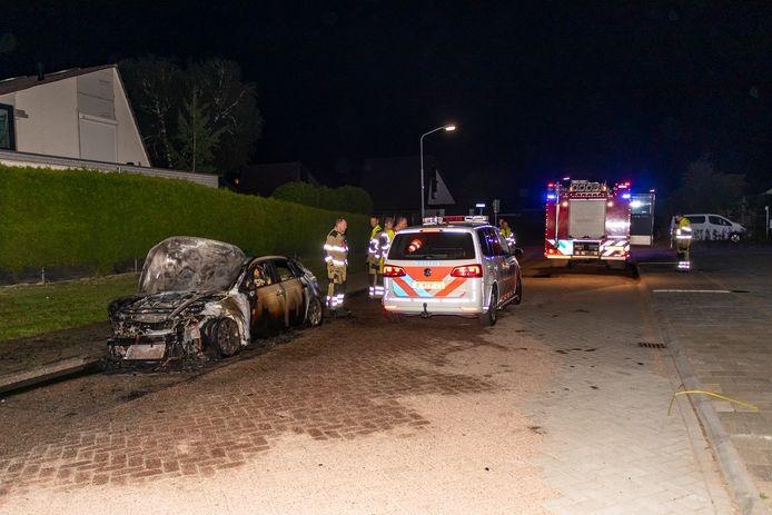 Auto uitgebrand in Kerkdriel