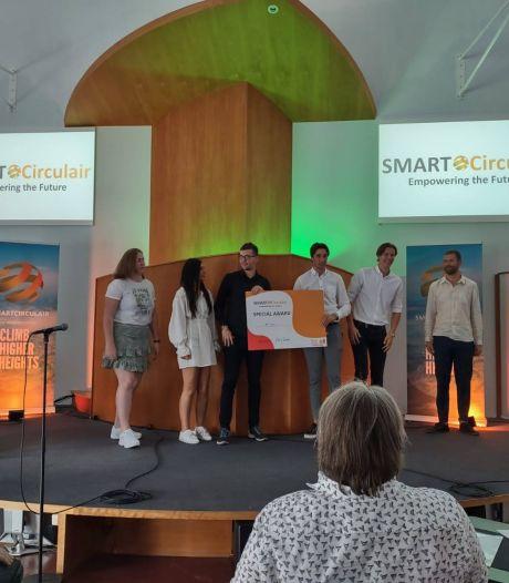 Studenten ROC in de prijzen met ontwerp voor marktplein in Hengelo: 'Water, groen en rode tegels'