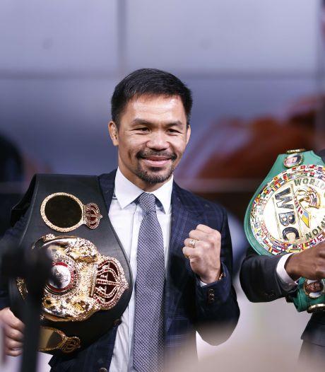 Gevecht tussen Manny Pacquiao en Errol Spence Jr. voor 21 augustus aangekondigd