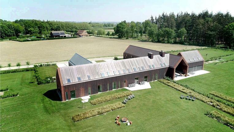 Nieuw vakantiehuis Echo Lodge in Hollebeke is een mix van natuur en architectuur.
