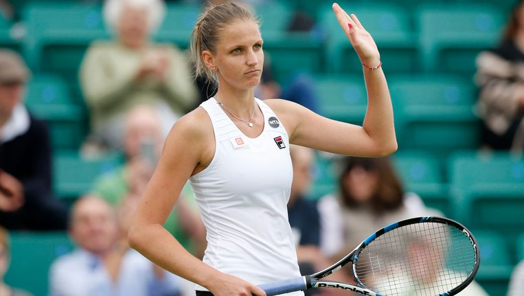 Karolina Pliskova Beeld Photo News