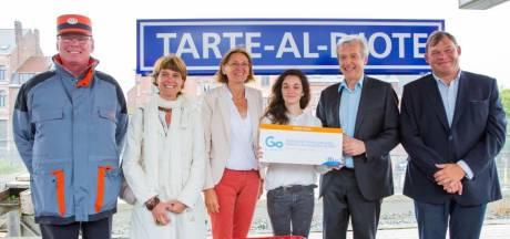 """Nivelles rebaptisée """"Tarte al Djote"""""""