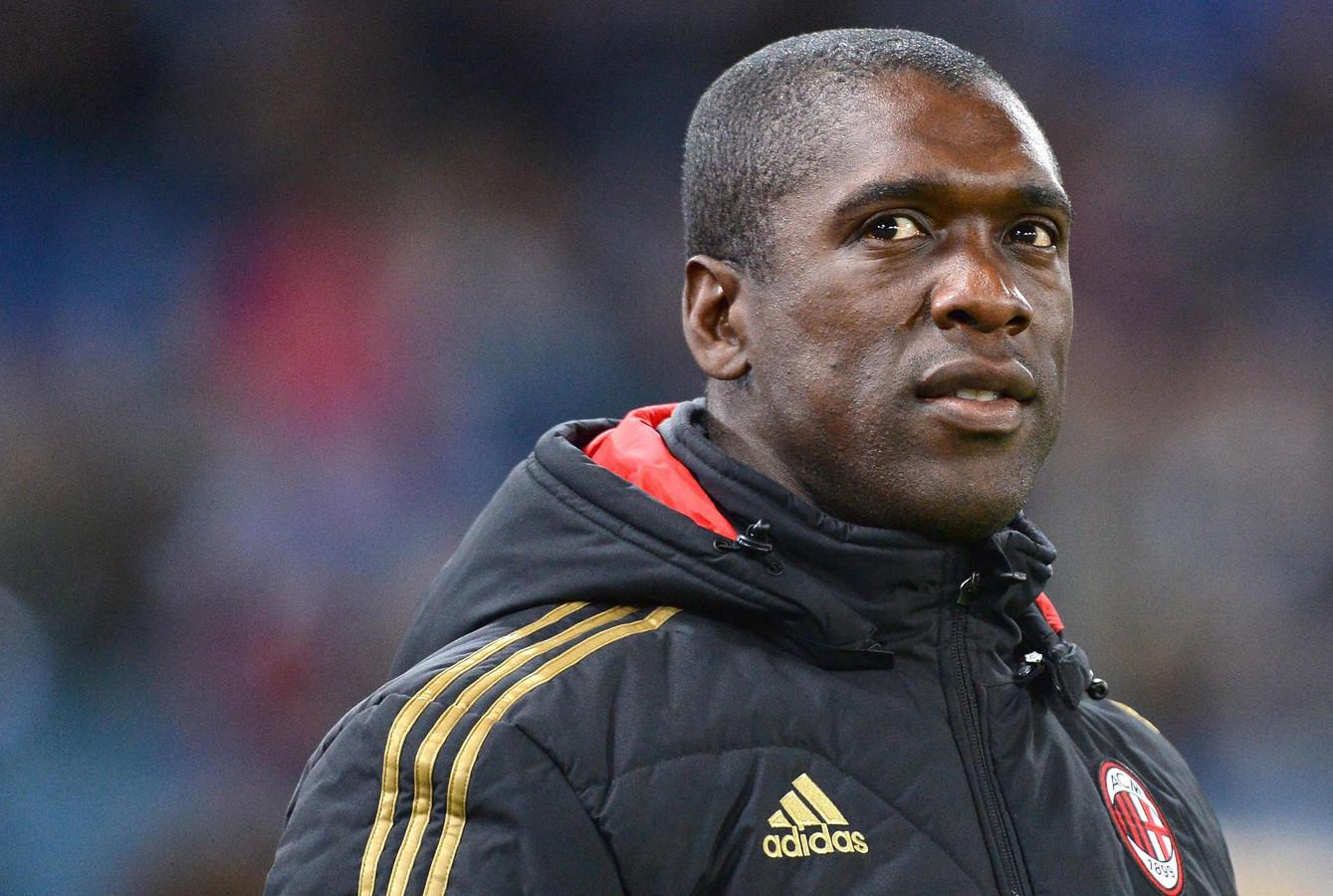 Clarence Seedorf werd als coach van AC Milan ontslagen na tegenvallende prestaties.