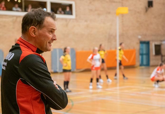 TOP Arnemuiden-trainer Edwin Coppoolse.