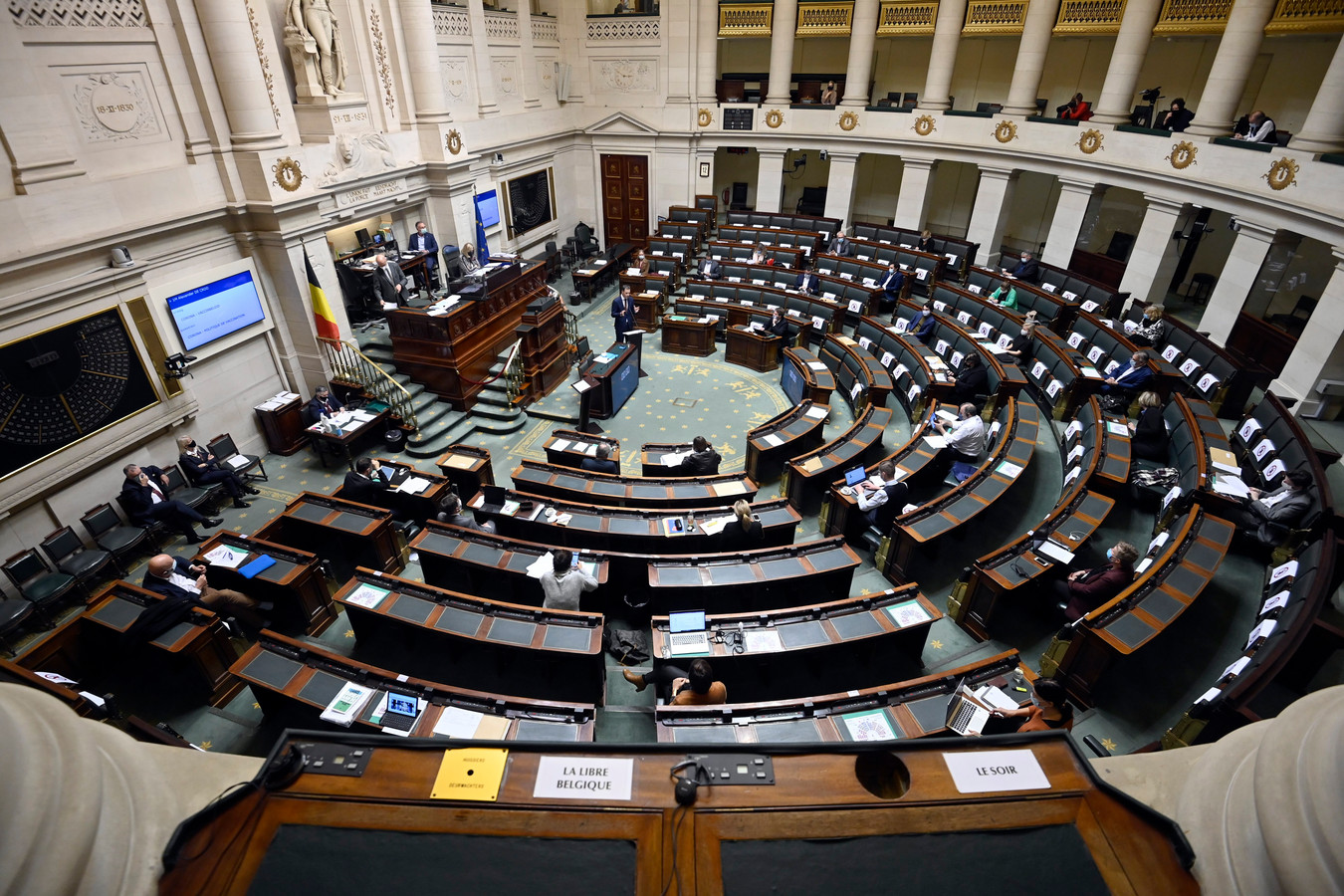 De Kamer in Brussel.