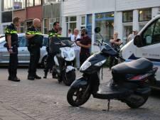 Maaltijdbezorger rijdt scooter total loss en vlucht