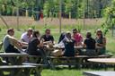 In Hengelo opende Tweede Pinksterdag bij de Twentse Bierbrouwerij een Biergarten. Uiteraard alles op anderhalve meter.