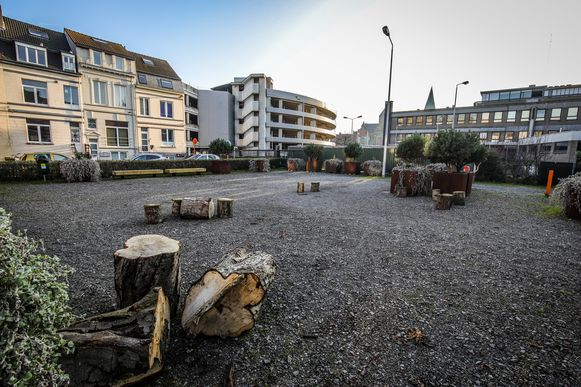 Dit toekomstig parkje wordt vernoemd naar Rose d' Ivry.