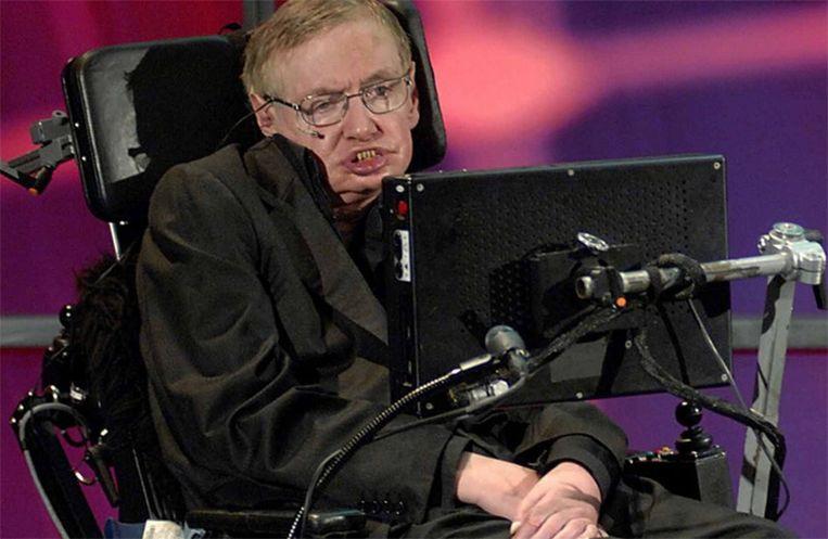 De bekende Britse natuurkundige, kosmoloog en wiskundige Stephen Hawking is overleden. Beeld YouTube