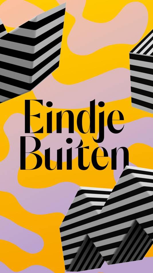 Poster van Eindje Buiten in Eindhoven.
