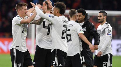 En aan het eind... winnen de Duitsers: Oranje haalt 0-2-achterstand op, maar bijt alsnog in het zand tegen Mannschaft