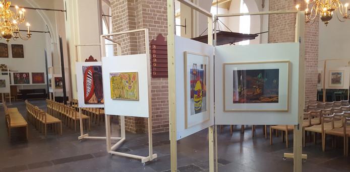 In de Nicolaïkerk worden vandaag rondleidingen gegeven over de expositie van de Special Award.