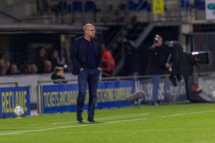 Fred Grim tijdens RKC - Willem II.