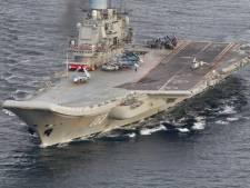 Comme un parfum de guerre froide: une armada russe traverse la Manche