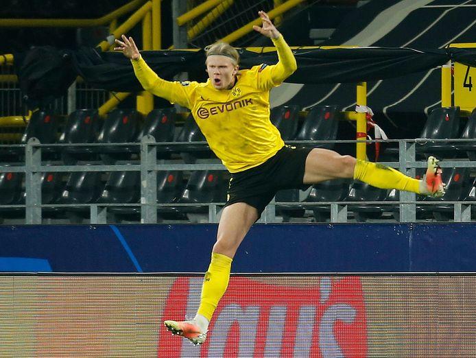 Erling Haaland maakte dit jaar al tien CL-doelpunten.