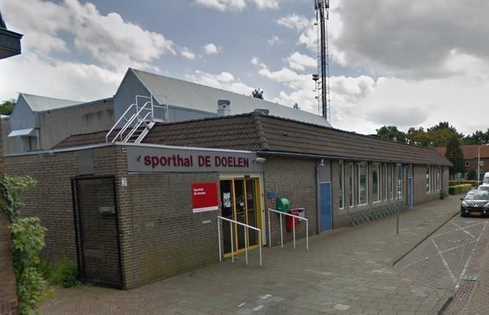 Sporthal De Doelen in hartje Princenhage, Breda. Bron: Google Maps.