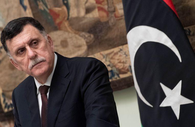 Fayez al-Sarraj Beeld EPA