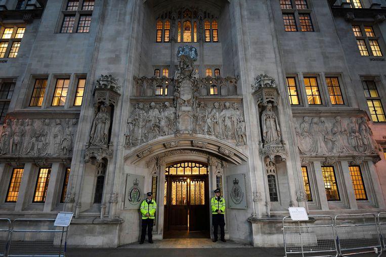 Het Hooggerechtshof in Londen.  Beeld REUTERS