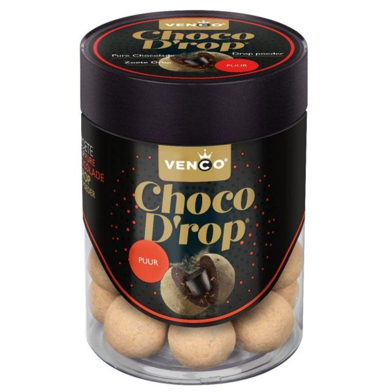 Zout-choco drop. Beeld