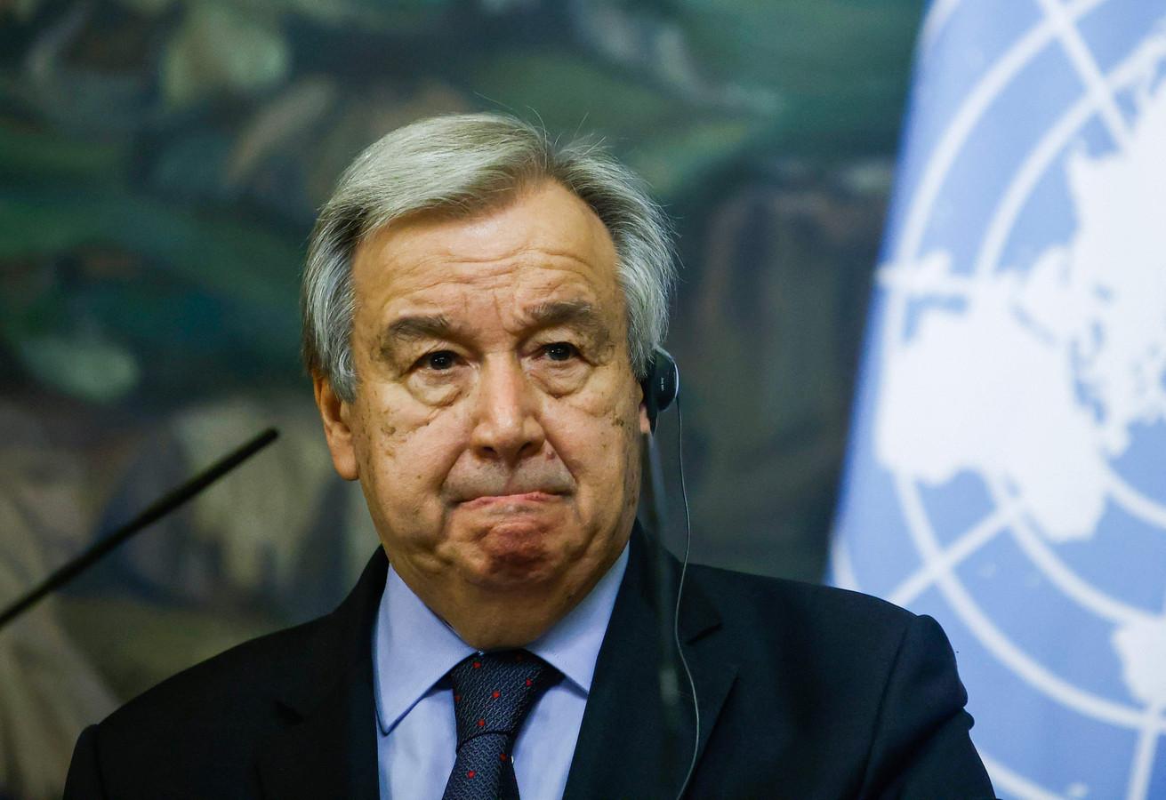 VN-secretaris-generaal Antonio Guterres
