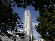 Incendie au 22e étage de la tour Up-Site à Bruxelles