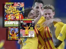 Spaanse media bewieroken 'machine' Frenkie de Jong: 'Een 10, de kwaliteit spatte ervan af!'