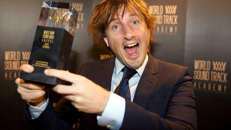 Daniel Pemberton won vorig jaar de 'discovery of the year'-award. Beeld BELGA
